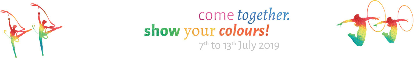 come together. show your colours!