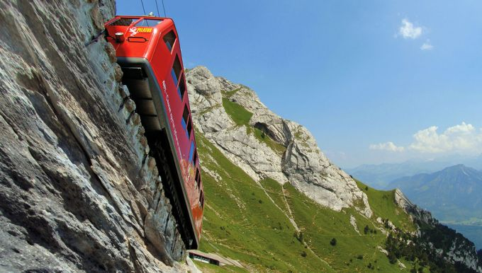 Pilatus Railways in Switzerland