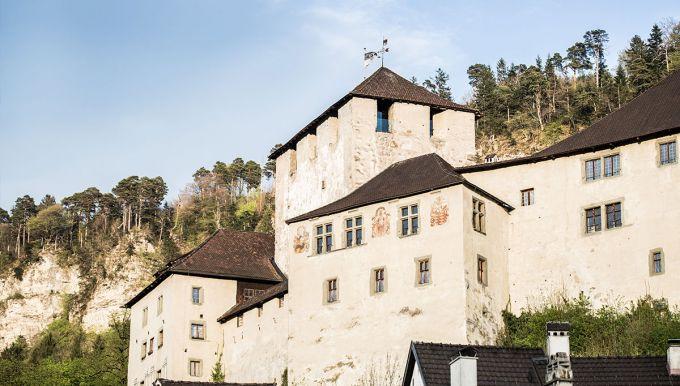 Schattenburg Castle in Feldkirch