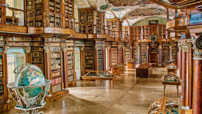 Abbey Library in St. Gallen
