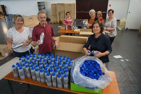 25.000 Trinkflaschen